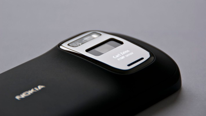 the infamous camera bump of Nokia 808 Pureview